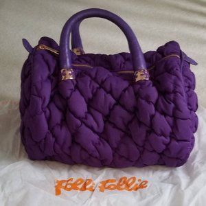 Folli Follie Purple Happy Nugget bag